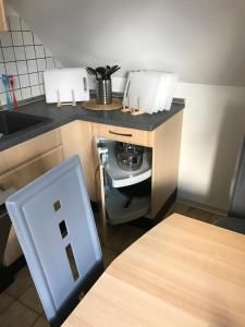 A kitchen or kitchenette at P.T-Pension