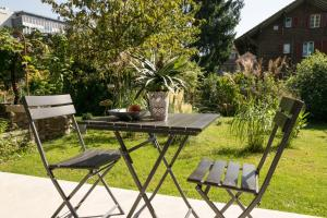 A porch or other outdoor area at Il Cubo