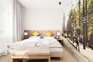 חדר ב-Meet Poznań Hotel
