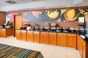 A restaurant or other place to eat at Fairfield Inn & Suites Twentynine Palms - Joshua Tree National Park