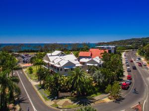 A bird's-eye view of The Terraces Main Beach