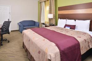 A room at Americas Best Value Inn Downtown Houston