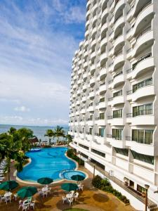 The swimming pool at or near Flamingo Hotel by the Beach, Penang