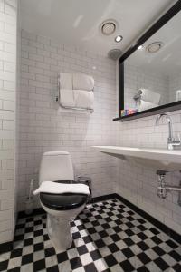 Ett badrum på Hotel & Ristorante Bellora