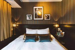 Ett rum på Hotel & Ristorante Bellora
