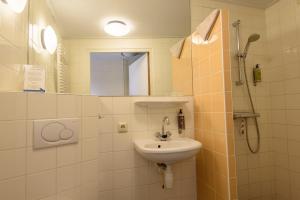 A bathroom at Folkshegeskoalle Schylgeralân