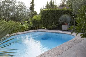 The swimming pool at or near Boutiquehotel Albergo Brione