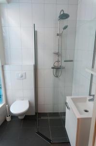 Salle de bains dans l'établissement City Hostel Vlissingen