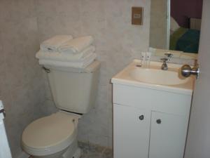 A bathroom at Hostal O'Higgins Pucón