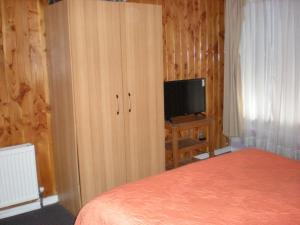 A television and/or entertainment center at Hostal O'Higgins Pucón
