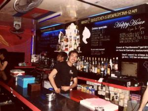 Salon ou bar de l'établissement Top Banana Guesthouse & Rooftop Bar