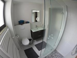 Ein Badezimmer in der Unterkunft Ferienwohnung Familie Seuferle