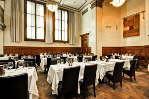 A restaurant or other place to eat at Dylan Hotel NYC