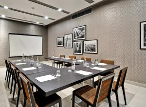 The business area and/or conference room at Dylan Hotel NYC