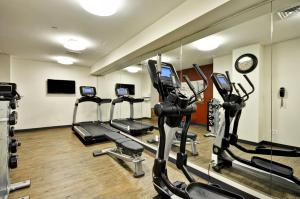 The fitness centre and/or fitness facilities at Dylan Hotel NYC