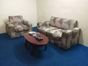 A seating area at Helm Jeddah Hotel Apartments