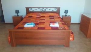 Letto o letti in una camera di Casa Vacanze Beppe