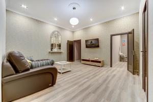 The lobby or reception area at Home SPb apartments