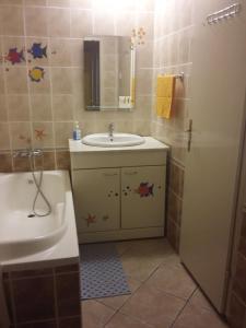 Kupatilo u objektu Guest House Anna Vendégház
