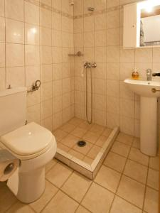 Ένα μπάνιο στο Pension Laura