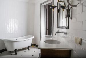 Vonios kambarys apgyvendinimo įstaigoje Vytautas Mineral SPA