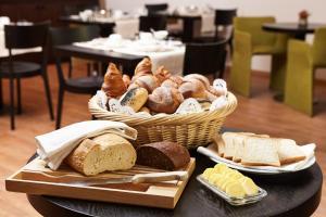 Frühstücksoptionen für Gäste der Unterkunft Steinenschanze Stadthotel
