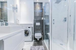 Łazienka w obiekcie Pohulanka Luxury