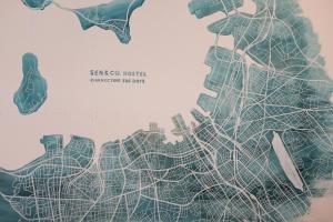 A bird's-eye view of SEN&CO.HOSTEL