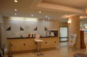 The lobby or reception area at Hotel Montagne Matsumoto