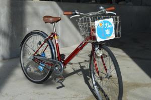 蒙塔涅松本酒店或附近騎腳踏車