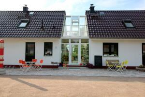 A porch or other outdoor area at Ostseepension TonArt