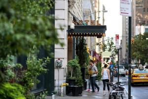 The facade or entrance of Ace Hotel New York