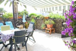 Een patio of ander buitengedeelte van Casas del Sol