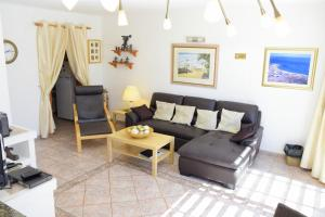 Een zitgedeelte bij Casas del Sol