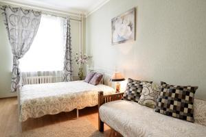 A room at Apartment Minsk Centr ЖД Вокзал Свердлова 24 с двумя спальнями