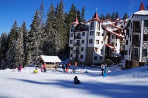 The Castle Complex during the winter