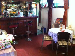 Lounge nebo bar v ubytování Penzion Vlasta