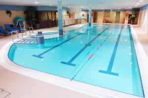 The swimming pool at or near Hibernian Hotel & Leisure Centre