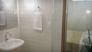 Um banheiro em Hospedagem de Jesus