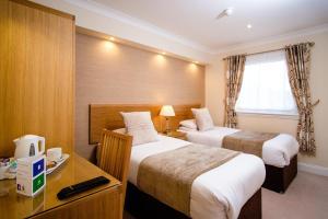A room at Adamson Hotel