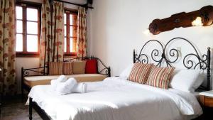 Ένα δωμάτιο στο Ξενοδοχείο Βίλλα Όρσα