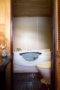 A bathroom at Aphrodite Cruise