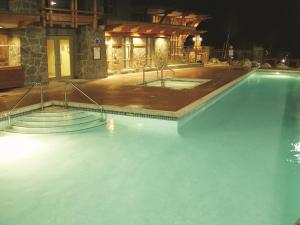 The swimming pool at or near Pan Pacific Whistler Village Centre