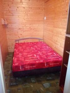 Postel nebo postele na pokoji v ubytování Kemp Horní Bečva