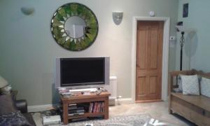 A television and/or entertainment center at Barn Conversion