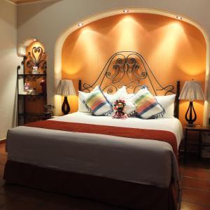 Una habitación en Hotel Boutique Parador San Miguel Oaxaca