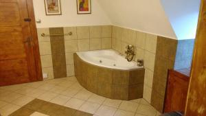 Łazienka w obiekcie Słoneczne apartamenty