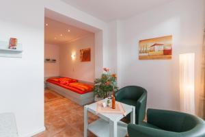 Lounge oder Bar in der Unterkunft Appartementhaus Strandnähe