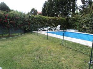 A garden outside Vista Verde