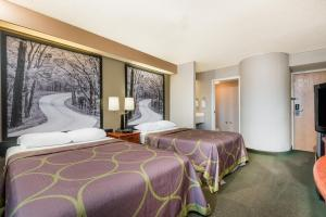 A room at Super 8 by Wyndham Jasper